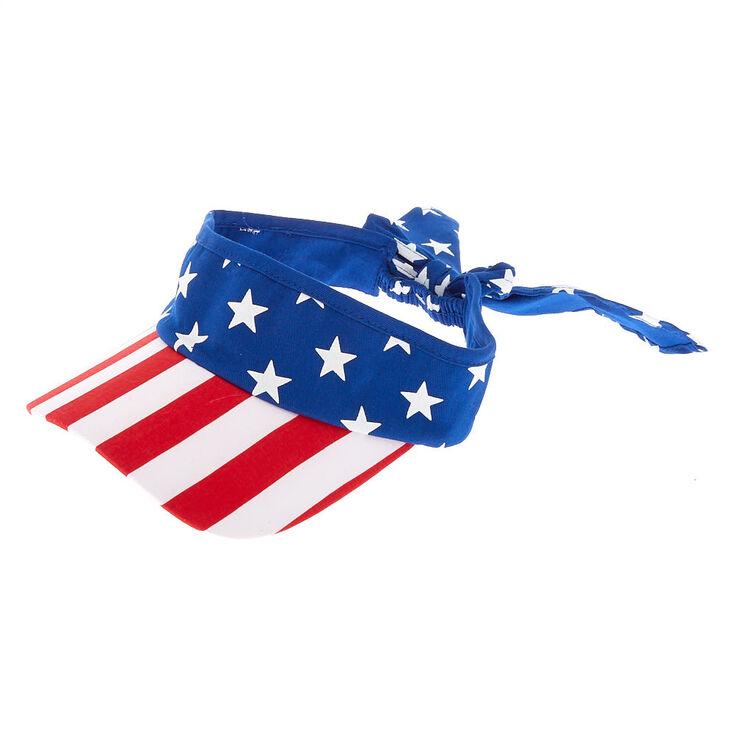 American Flag Visor,