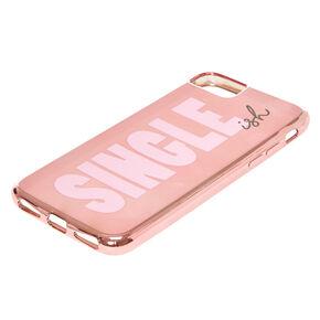 Rose Gold-Tone Single-ish Phone Case,
