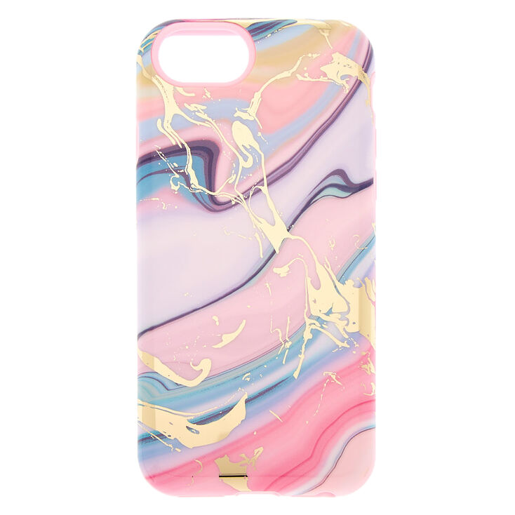 Pastel Agate Protective Phone Case - Fits iPhone 6/7/8/SE,