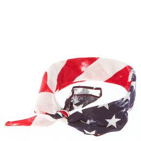 American Flag Bandana Headwrap,