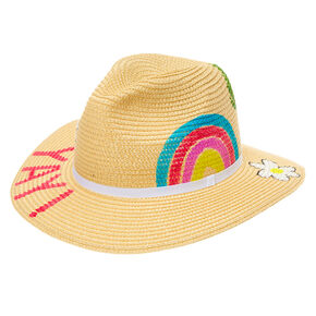 Painted Rancher Floppy Sun Hat,