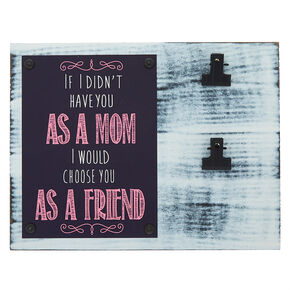 Mother's Day Double Clip Wall Art,