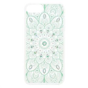 Iridescent Stone Mandala - Fits iPhone 6/7/8 Plus,