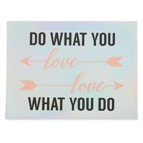 Do What You Love, Love What You Do Wall Art Canvas,