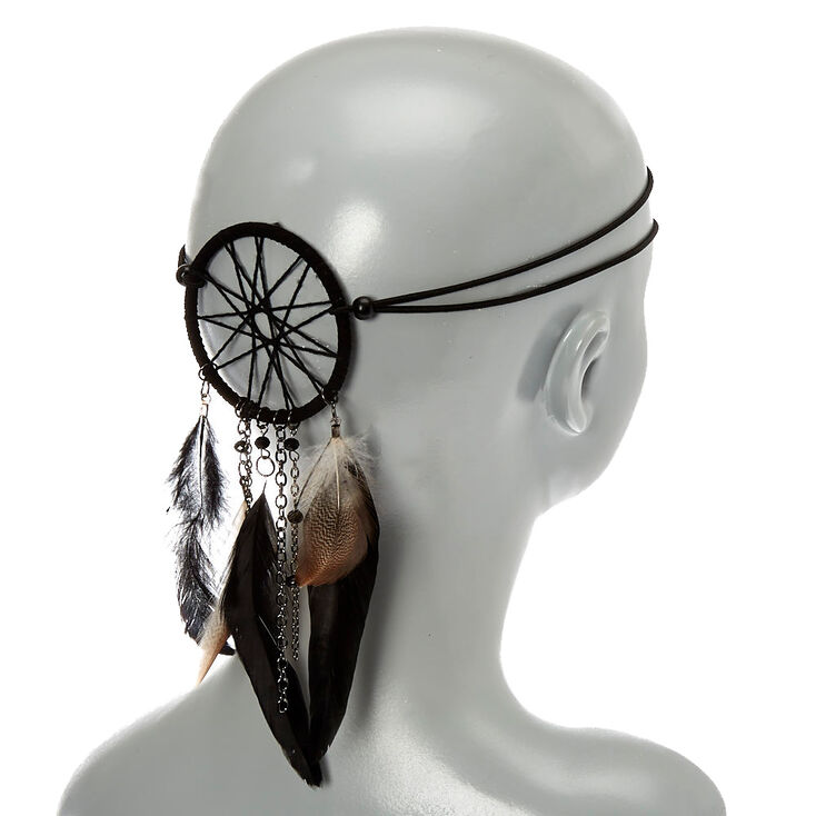 Black Dreamcatcher Headwrap,