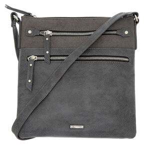 Midi Passport Crossbody Bag - Gray,