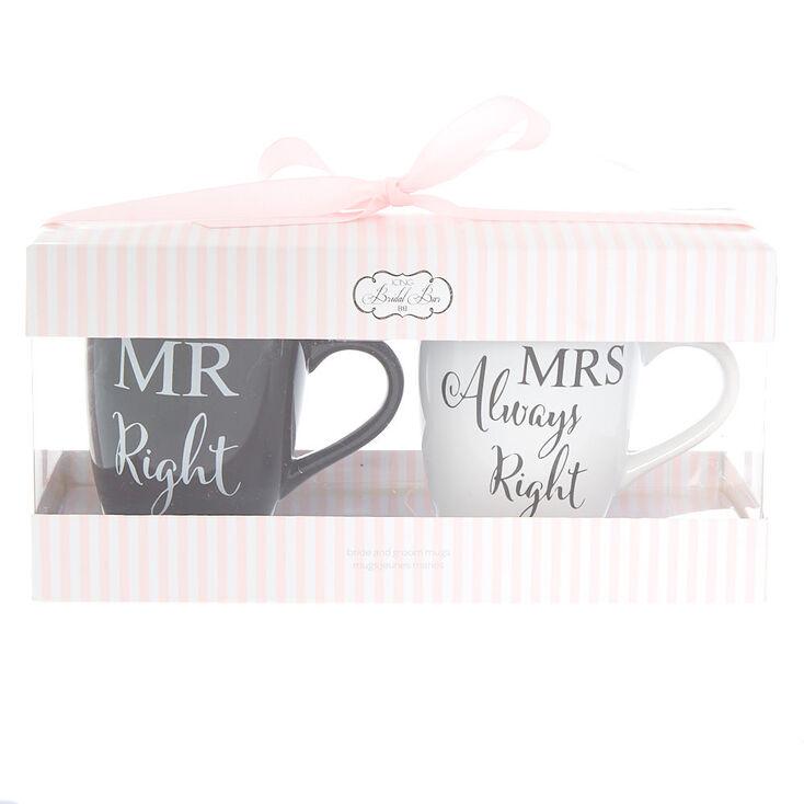 Bride & Groom Mug Set - 2 Pack,