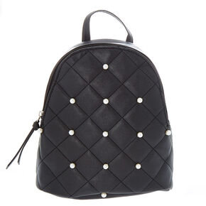 Black Pearls Mini Backpack,