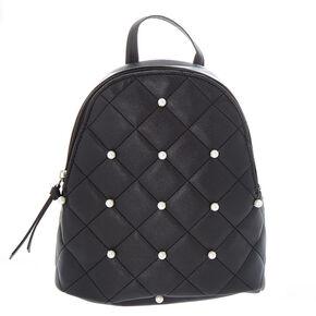 Black Pearls Mini Backpack