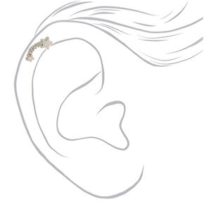 Silver 16G Meteor Shower Cartilage Earring,