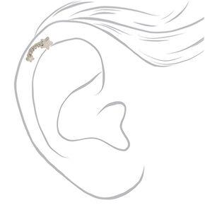 Silver 16G Meteor Shower Cartilage Earring,
