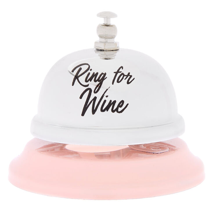 Ring For Wine Bell - Pink,