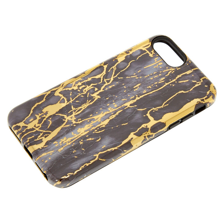 Cracked Marble Protective Phone Case - Fits iPhone 6/7/8 Plus,