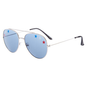 USA Stars Aviator Sunglasses,