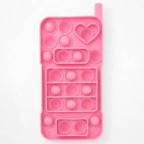 Pop Poppers Cell Phone Fidget Toy - Pink,
