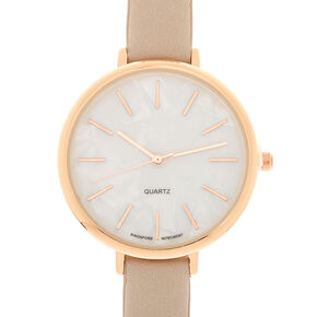 Marble Classic Watch - Taupe,