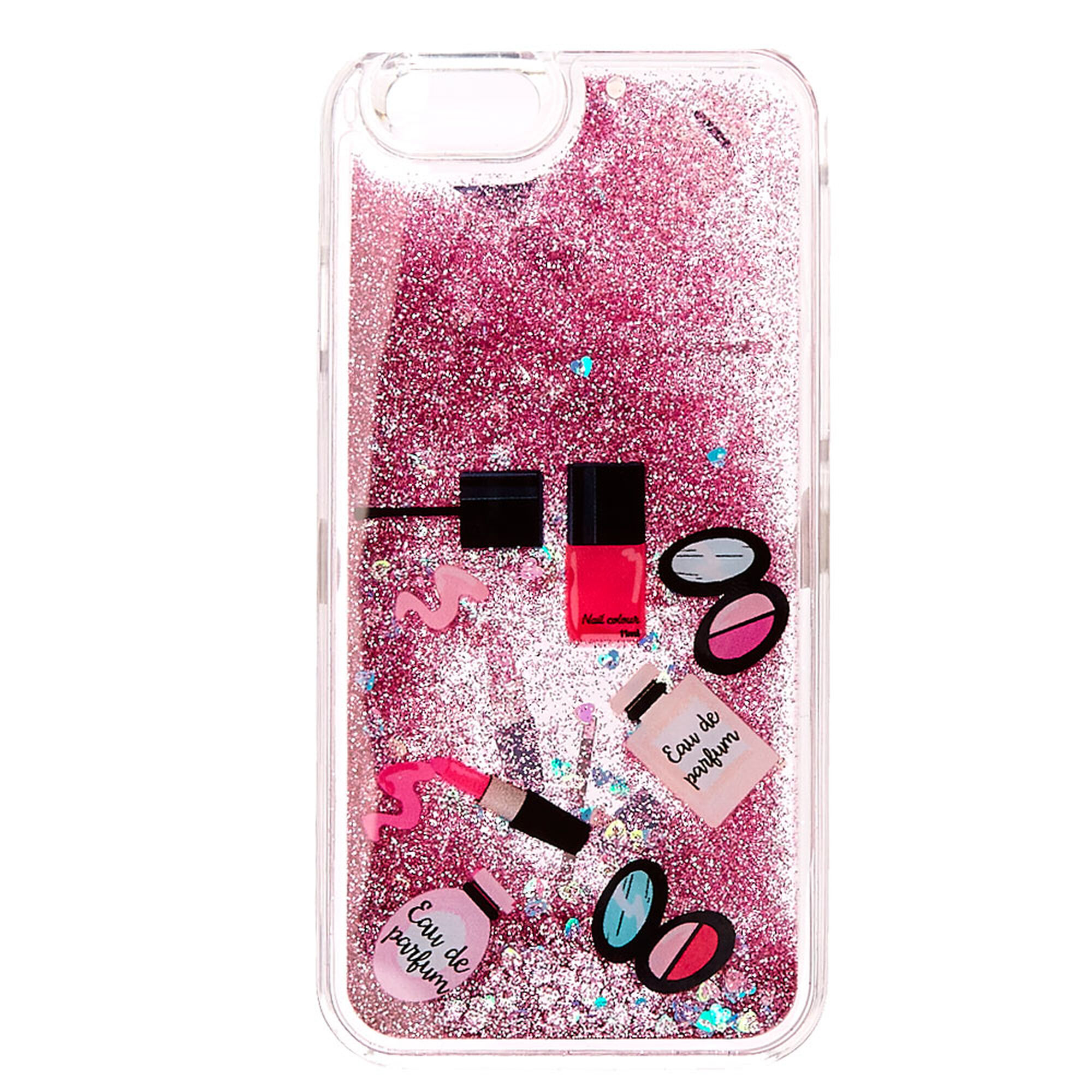 info for 62484 7bdcc Beauty Glitter Liquid Filled Phone Case- Fits iPhone 6/6S