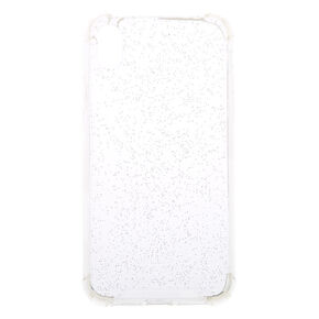 Clear Holographic Glitter Phone Case - Fits iPhone X/XS,