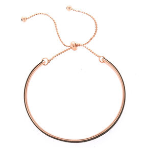 Glitter Cuff Bracelet - Black,
