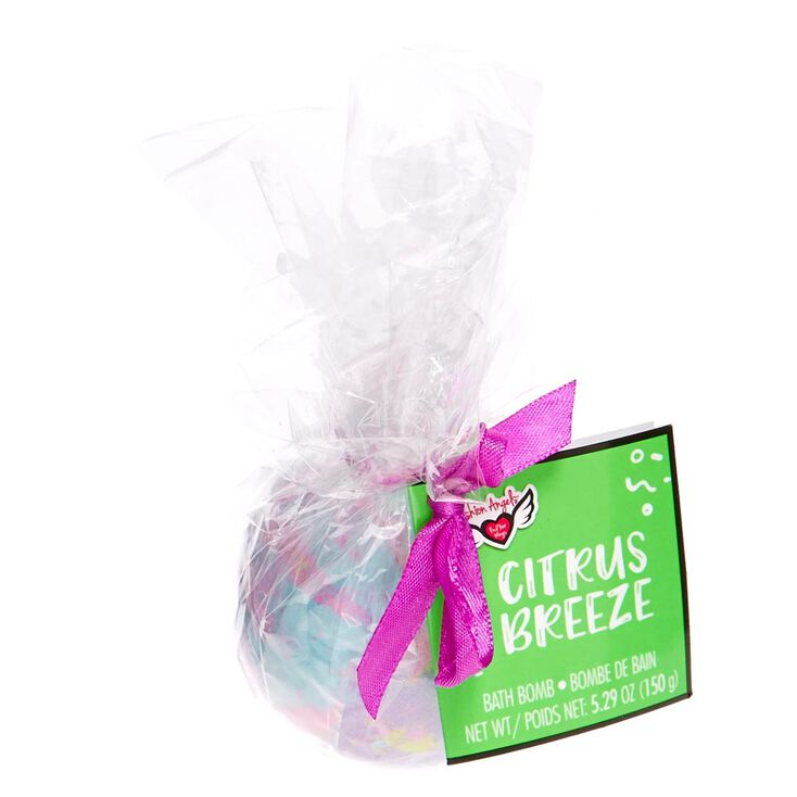 Citrus Breeze Pastel Round Bath Bomb,