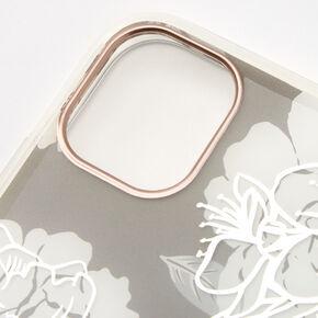 Quartz Floral Phone Case - Fits iPhone 11,