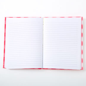 Hello Cities Gingham Journal - Pink,
