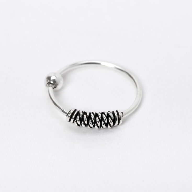 Silver Antique Nose Ring,