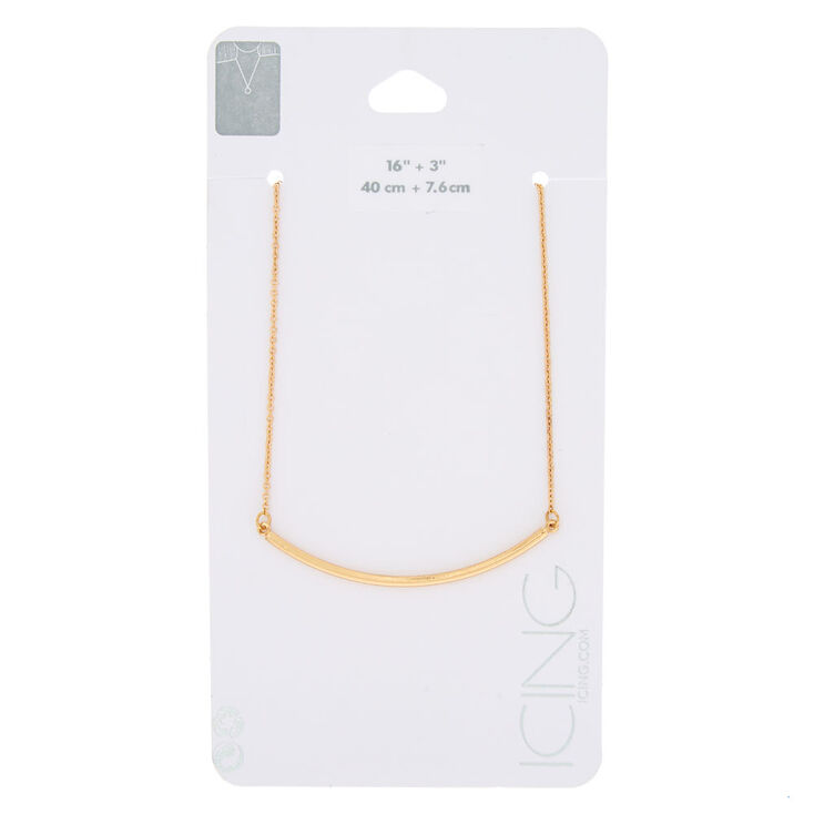 Gold Bar Necklace Chain,