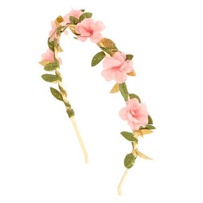 Blush Pink Rose Headband,