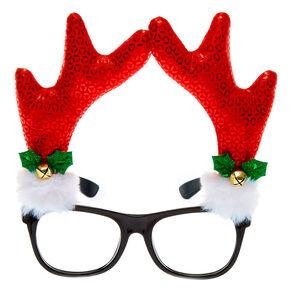 Reindeer Antler Frames - Red,