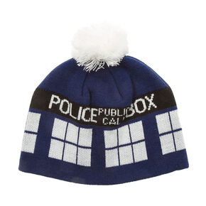 Doctor Who Tardis Beanie Hat,