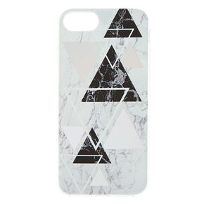 Geometric Marble Phone Case - Fits iPhone 6/7/8/SE,