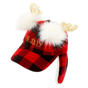 Be Jolly Baseball Cap - Red,