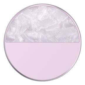 Glam Inlay Acetate PopSockets Swappable PopGrip - Lilac,