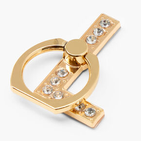 Gem Initial Ring Stand - L,
