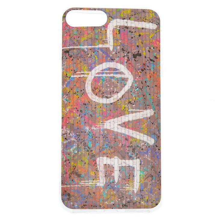 Love Graffiti Phone Case - Fits iPhone 6/7/8 Plus,
