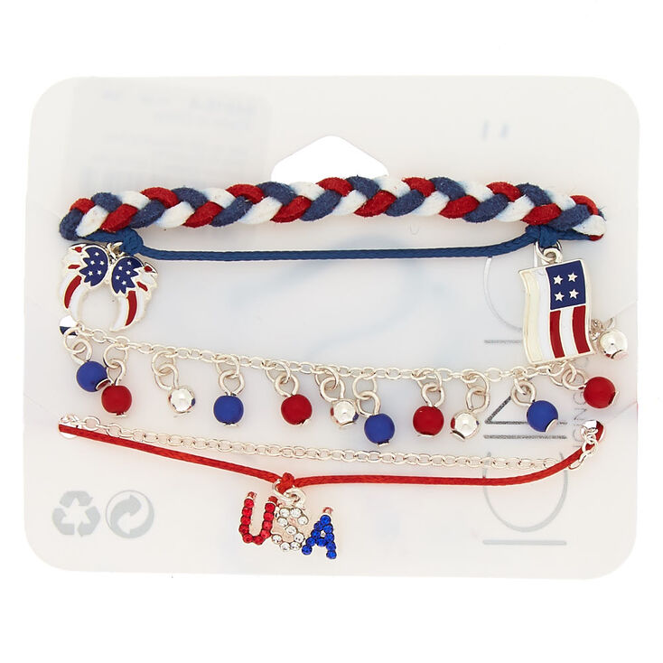 USA Mix Bracelets - 5 Pack,