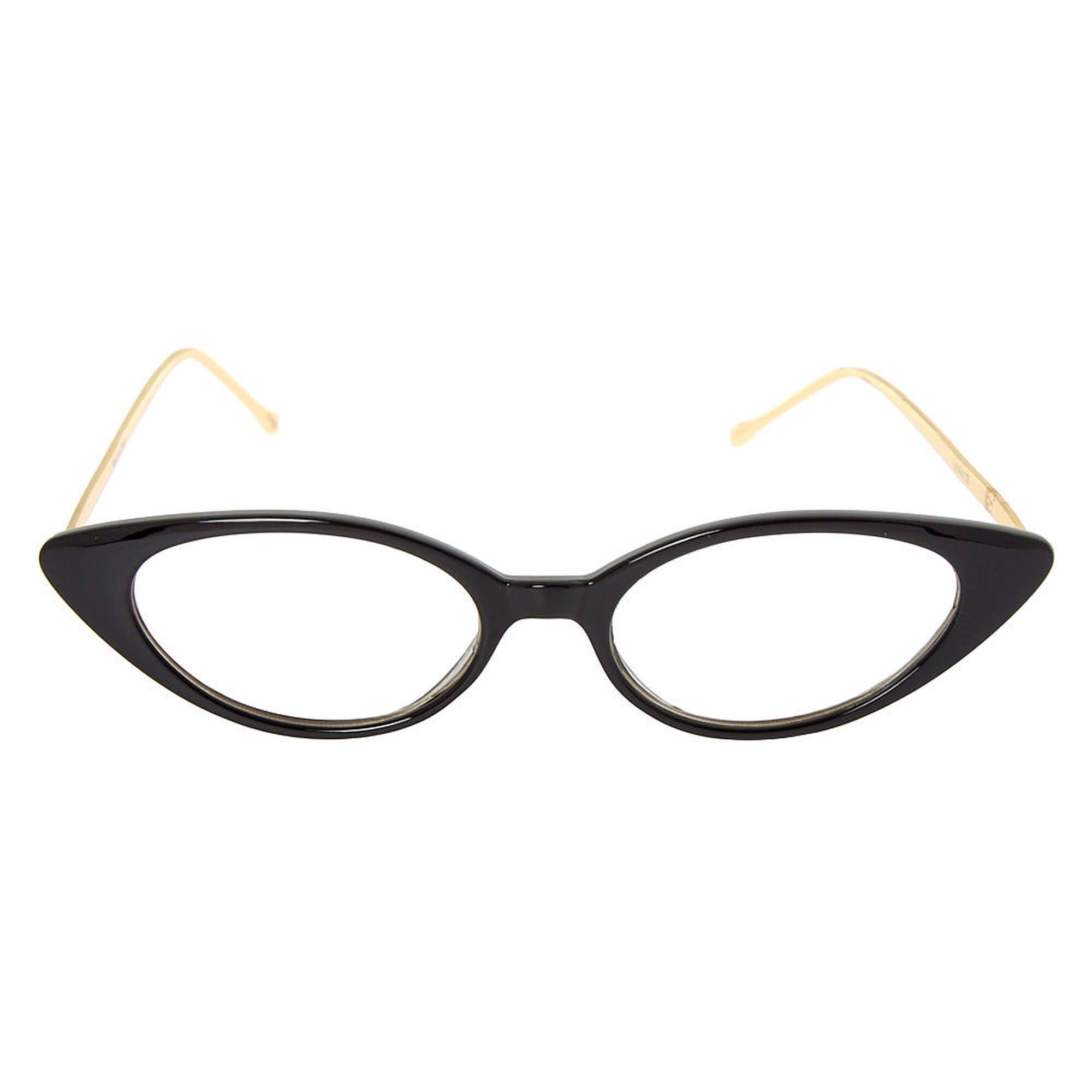 a4fb19a5e76 ... Extreme Cat Eye Frames - Black