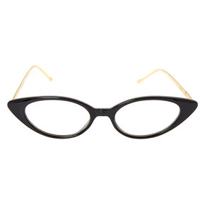 Extreme Cat Eye Frames - Black,