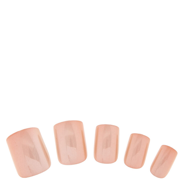 Nude Chrome Instant Nails,