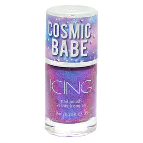 Cosmic Babe Nail Polish - Cosmic Holo Purple,