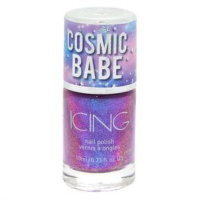 Cosmic Babe Nail Polish - Cosmic Holo Purple,