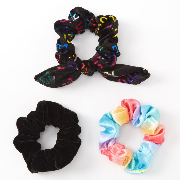 Small 2020 Graduate Hair Scrunchies - 3 Pack,