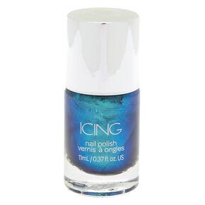 Metallic Nail Polish - Ocean Blue,