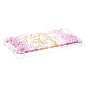 Birthday Queen Confetti Phone Case - Fits iPhone 6/7/8,