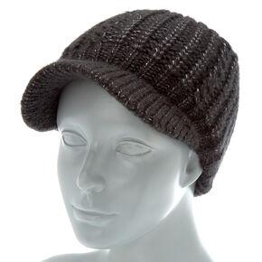 9a21ea1981b Knit Cabby Hat - Black