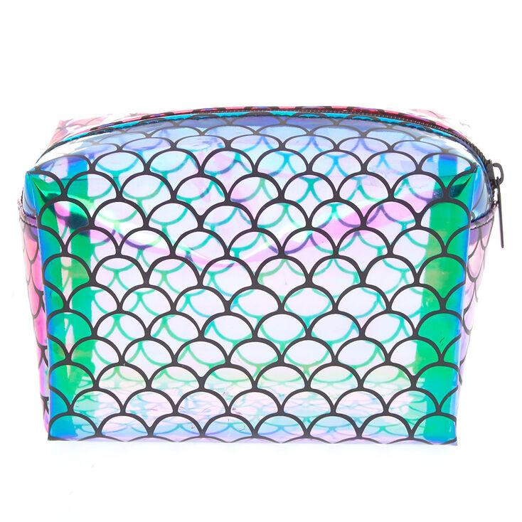 Mermaid Scallop Makeup Bag,