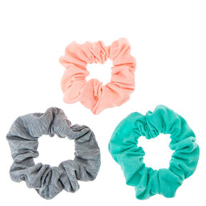 Small Pastel Spring Hair Scrunchies - 3 Pack,