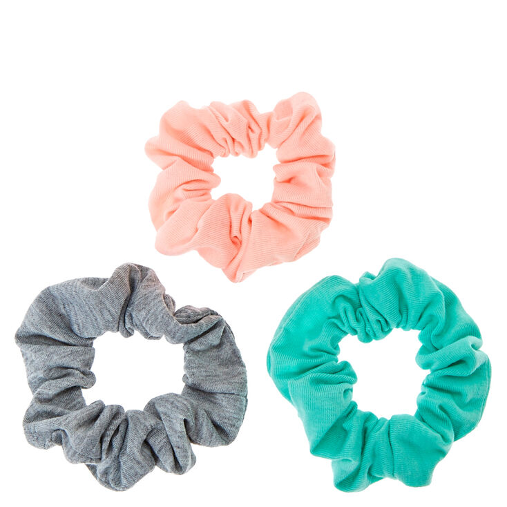 Pastel Spring Hair Scrunchies - 3 Pack,
