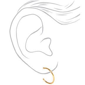 Mixed Metal Love Earring Set - 9 Pack,